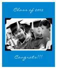 Scrapbook Vertical Big Rectangle Graduation Labels