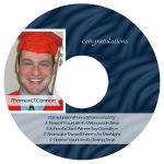 Snapshot CD Graduation Labels