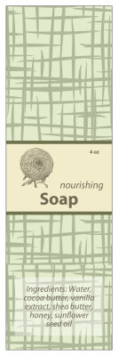 Soothing Soap Band Full Labels