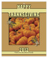 Corn Thanksgiving Rectangle Hang Tag 3.25X4