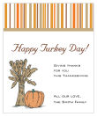 Stripes Thanksgiving Rectangle Lables 3.25x4