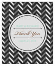 Chalkboard Chevron Vertical Big Rectangle Wedding Labels