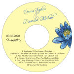 Floral Fairytale Flower CD Wedding Label