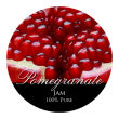 Pomegranate Regular Mouth Ball Jar Topper Insert