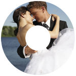 Wedding CD Photo Labels