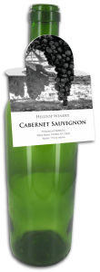 California Square Wine Bottle Tags