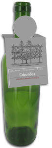 New York Rectangle Wine Bottle Tags