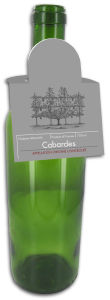 New York Square Wine Bottle Tags