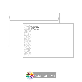 Custom Olde  Envelopes for Wedding Invitations
