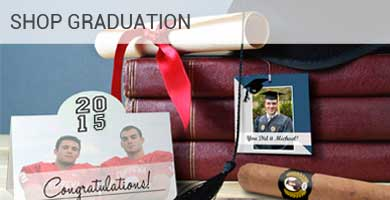 Custom Graduation Favor Labels