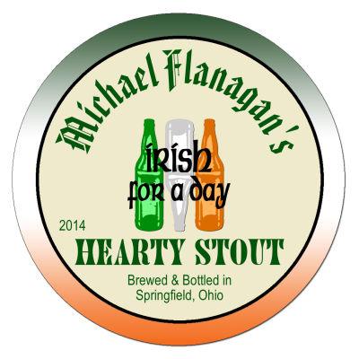 Green Ale Irish Beer Coasters