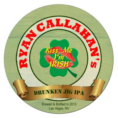 I'm Irish Irish Beer Coasters