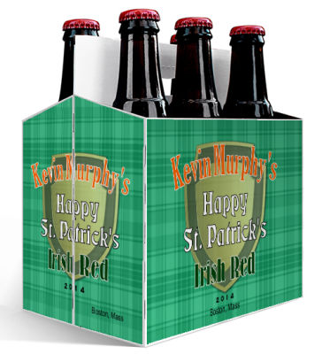 Celtic Irish 6 Pack Beer Carrier