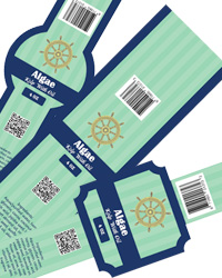 Algae Canning Soap Labels