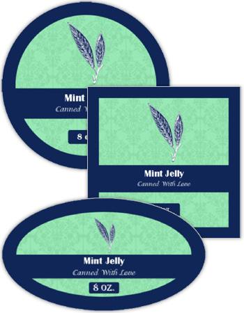 Algae Canning Labels