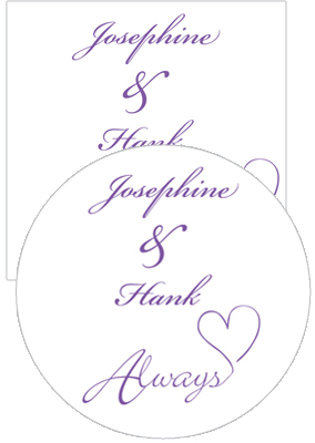 Always Swirly Wedding Coasters