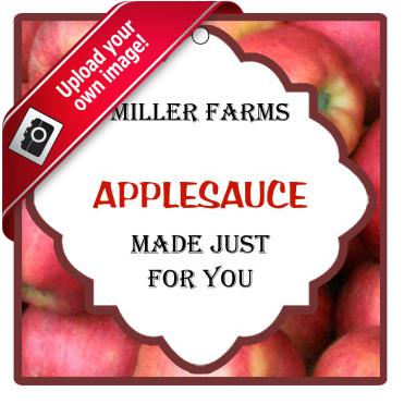 Apple Dumpling Food and Craft Hang Tags