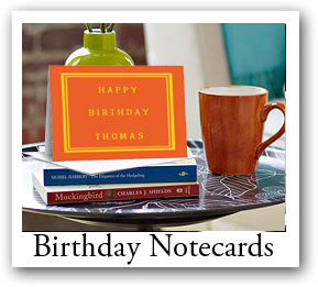 birthday note card