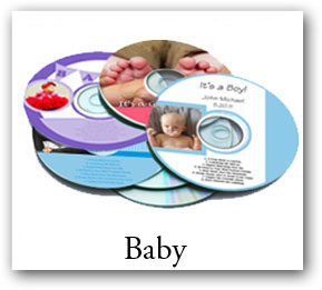 baby music cd, baby shower dvd labels