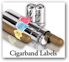Custom Christmas cigar band, cigar band labels, customizable cigar band