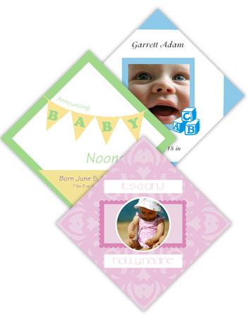 Baby Diamond Labels