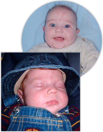 Baby Photo Labels
