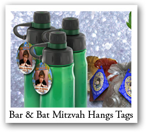 Bar and Bat Mitzvah Hang Tags
