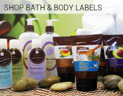 Bath & Body Labels