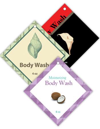 Diamond Bath&Body Hang Tag