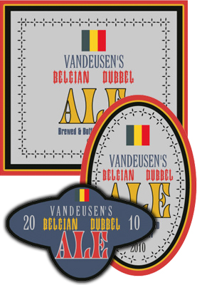 Belgian Beer Labels