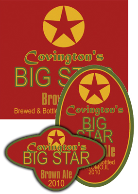 Big Star Beer Labels