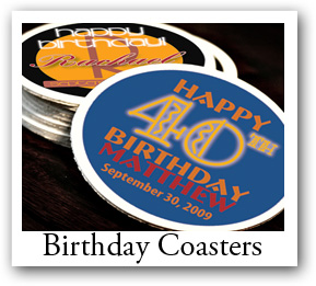 Birthday Coaster