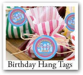 custom birthday hang tags