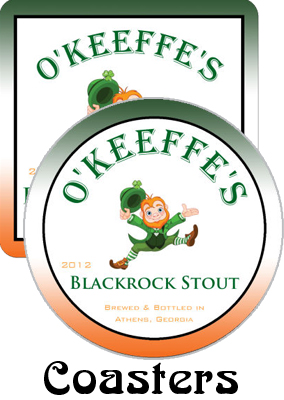 Blackrock Stout Saint Patricks Day Coaster