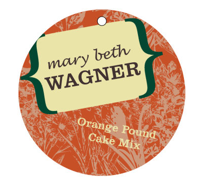 Secret Oasis Cake Tags and Craft Hang Tags