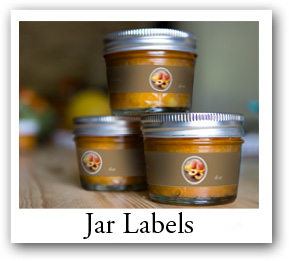 jar labels, long rectangle labels, rectangle Labels,rectangle sticker