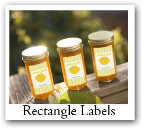 custom shape and size labels custom stickers canning jar label