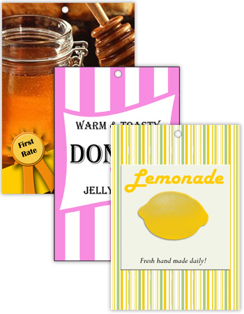 Vertical Rectangle Canning Hang Tag