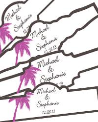 Carribean Beach Cigar Band Labels