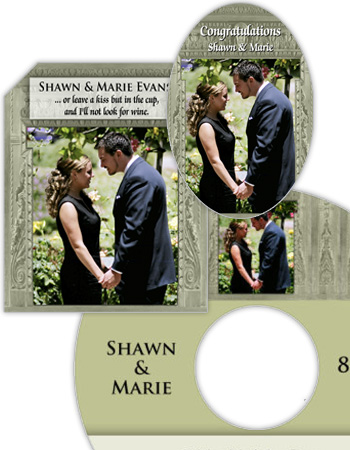 Carving Wedding Labels
