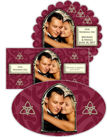 Celtic Wedding Labels