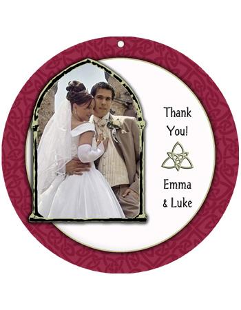 Celtic Wedding Favor Tag