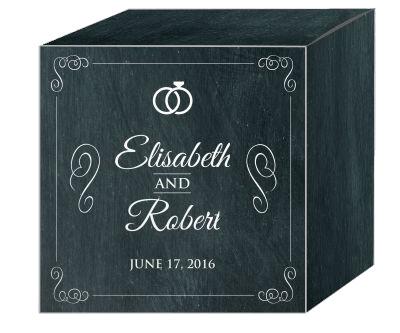 Chalkboard Rings Favor Boxes
