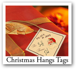 Custom Christmas Hangtags
