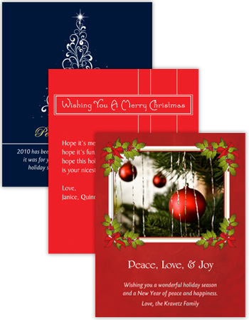 Christmas Vertical Rectangle Labels