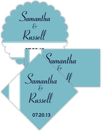 Classic Wedding Labels