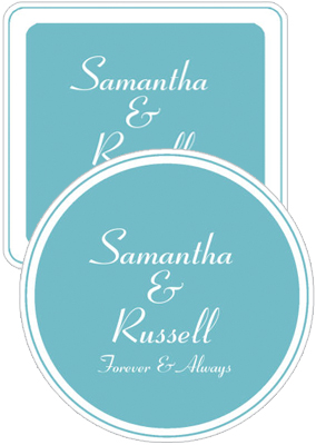 Classical Wedding Coasters