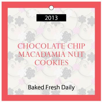 Cookies Food and Craft Hang Tags