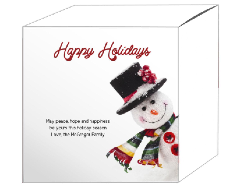 Corner Snowman Christmas Gift Boxes