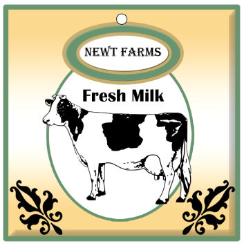 Cow Patch Food and Craft Hang Tags